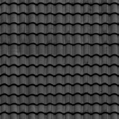Black Ceramic Roof Tiles Urban Amazing Textures